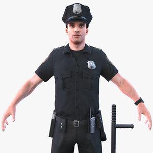 police officer 2020 pbr 3D