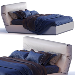 gentleman flou bed 3D