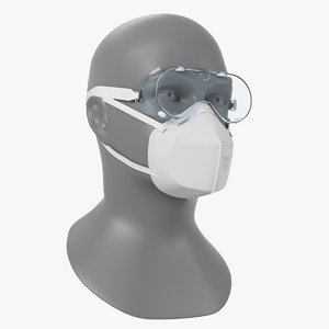 3D n95 respirators safety