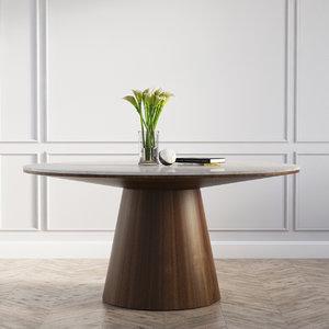 3D model winston dining table