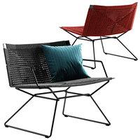 MDF Italia Neil Twist armchair