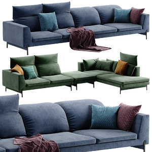 3D ditre italia sectional sofa