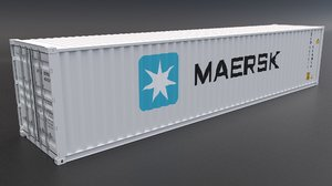 3D maersk container model