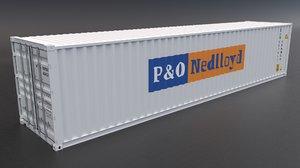 3D p o nedlloyd container model