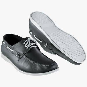 realistic men s shoes 3D