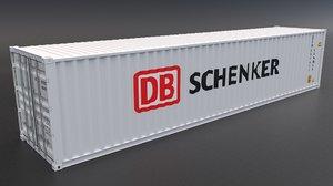 3D db schenker container