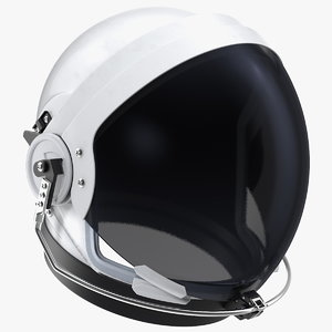 3D nasa ocss helmet model