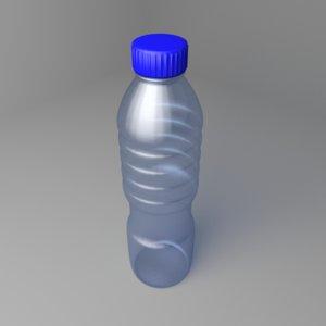 water bottle 20oz 3D model