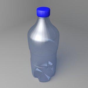 3D model water bottle 24oz