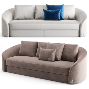 3D furniture sofa seat model