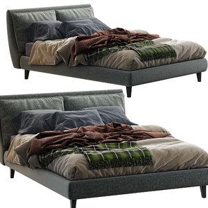 3D attico twils bed