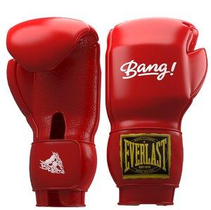 3D boxing sport model