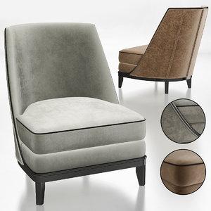 furniture chair armchair 3D model