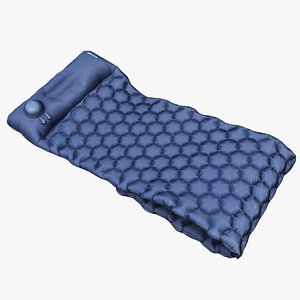 3D scan sleeping pad model