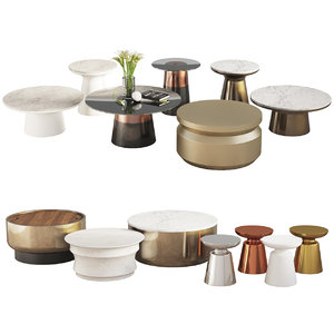 3D coffee tables west elm