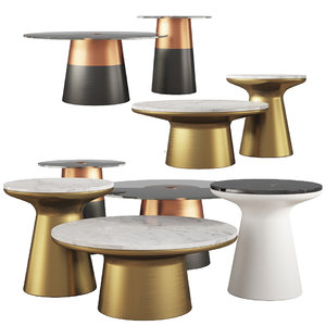 coffee tables west elm 3D model