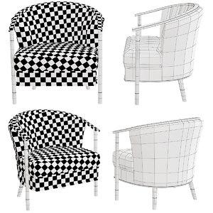 3D model furniture chair armchair