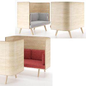 3D benchmark sage sofa