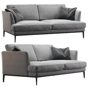 3D model alivar sofa portofino