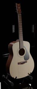 3D acoustic guitar yamaha f310