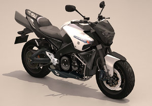 3D suzuki b-king model