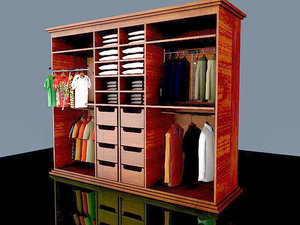 3D model wardrobe 2