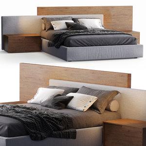 jesse bed mylove 3D model