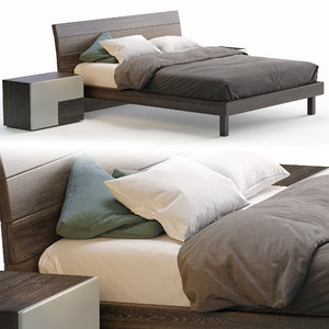 wood bed model