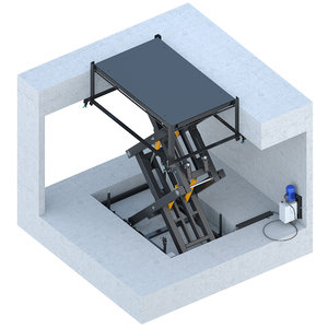 3D - elevator model