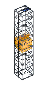 3D model - industrial lift