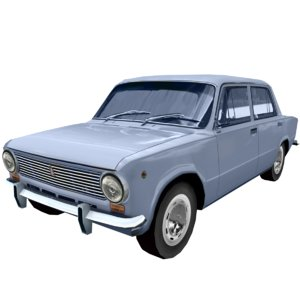 3D sovetsky vaz-2101 car model