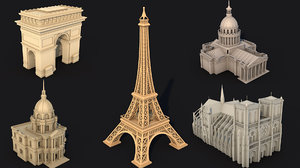 3D model pantheon 5 print
