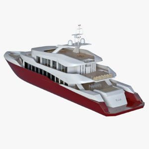 yacht 3D