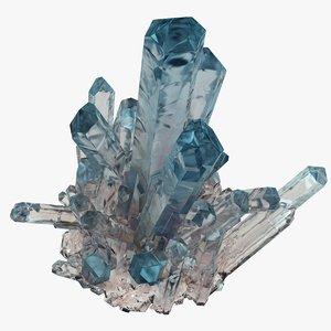 3D crystals model