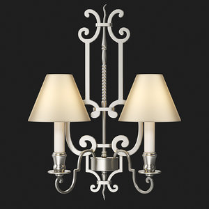 vaughan - icomb wall light 3d model