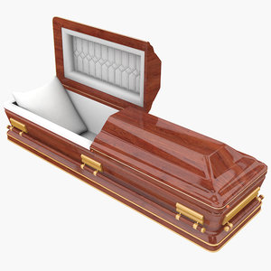 casket coffin 3D model