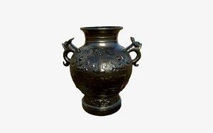 vase iron 3D model