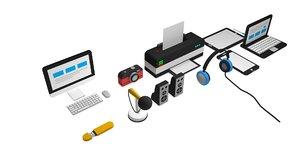 technological item pcs 3D model