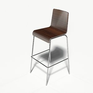 barstool bar stool 3D model