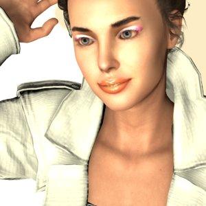 3D realistic fashion carin