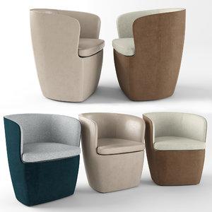 3D surface armchair model
