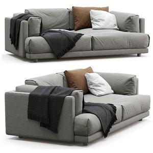 family lounge living divani 3D model