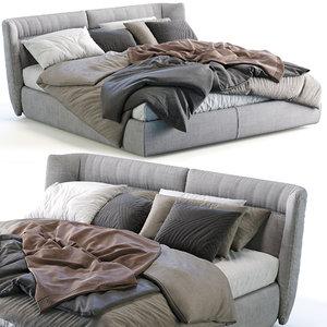 gamma bed tulip night 3D model