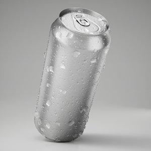 3D model wet beverage