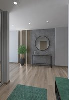 hallway interior model
