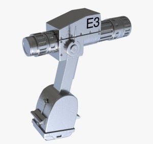 3D model pistol grip tool
