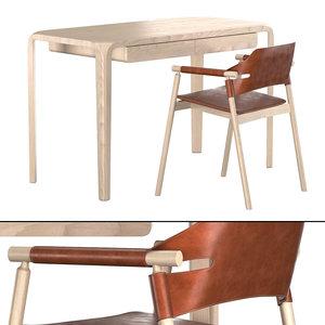 primum work desk-suite p 3D model