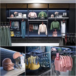 shop clothes 3D model