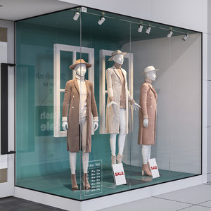 mannequin clothing 3D