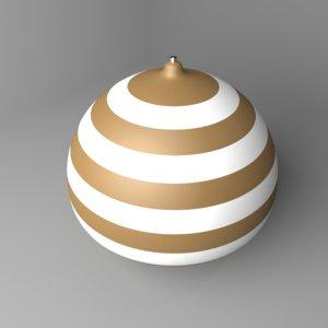 spinning 5 3D model